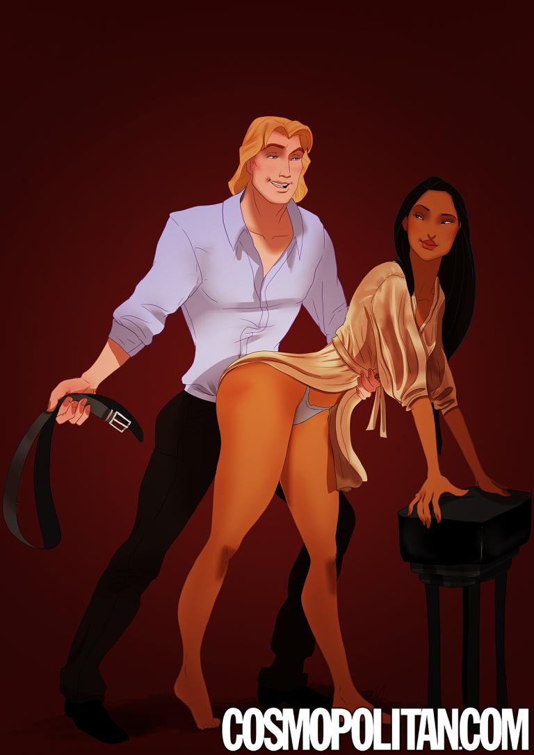 Pocahontas e John Smith, Pocahontas