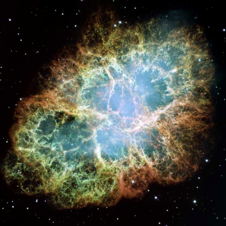 Nebulosa-Granchio hubble