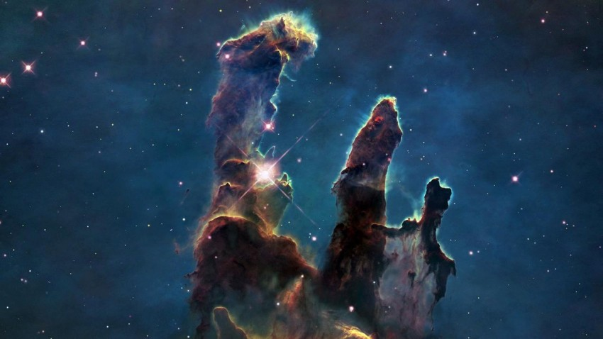 hubble pilastri della creazione