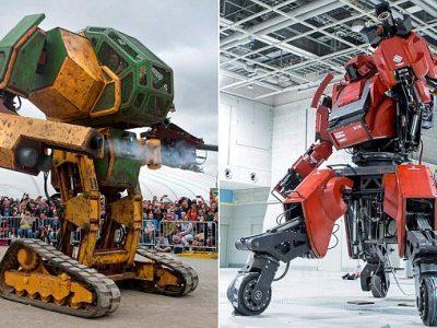 Gli USA sfidano il Giappone: inizia la battaglia dei robot giganti