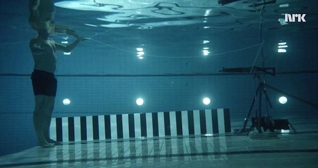 proiettile sott'acqua