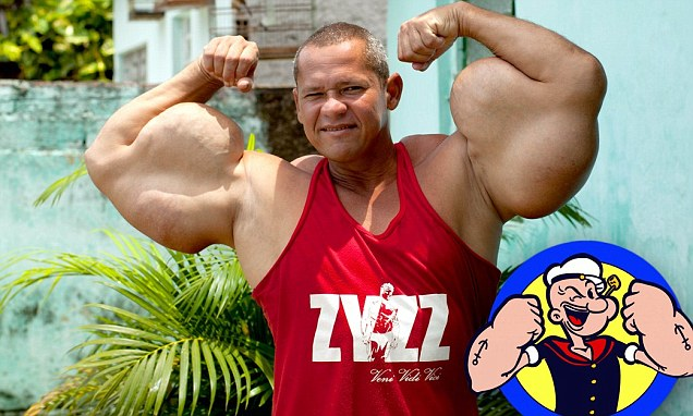 Arlindo de Souza miscela alcol olio muscoli