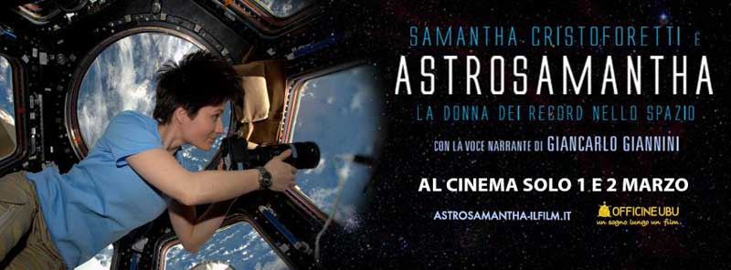 AstroSamantha banner film