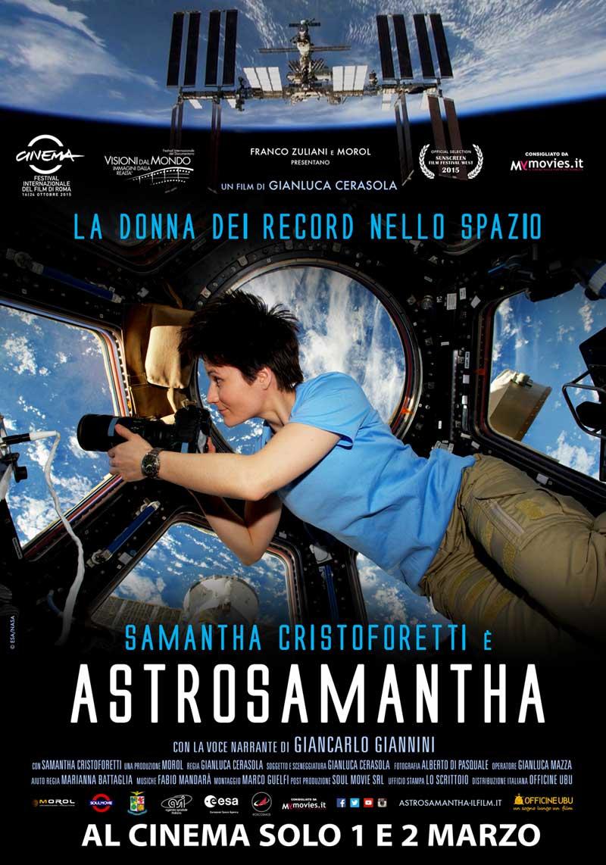 AstroSamantha poster film