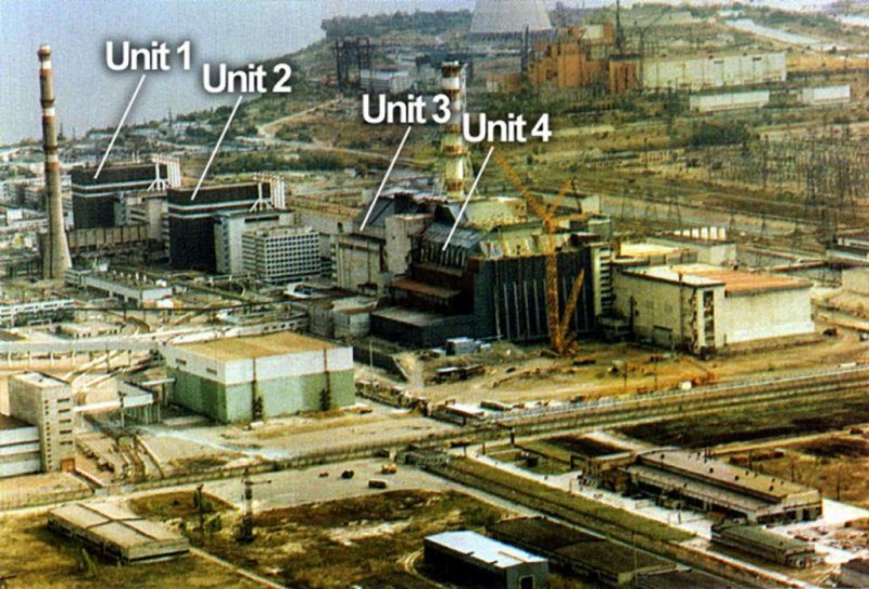 Chernobyl e Pripyat reattore nucleare