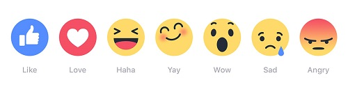 Facebook Reactions 2