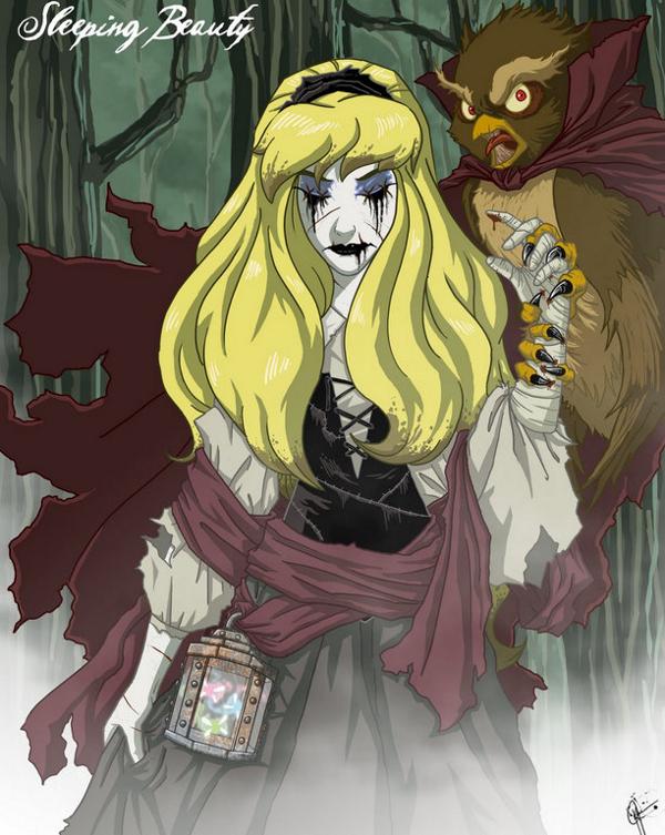 Principesse Disney dark - Aurora
