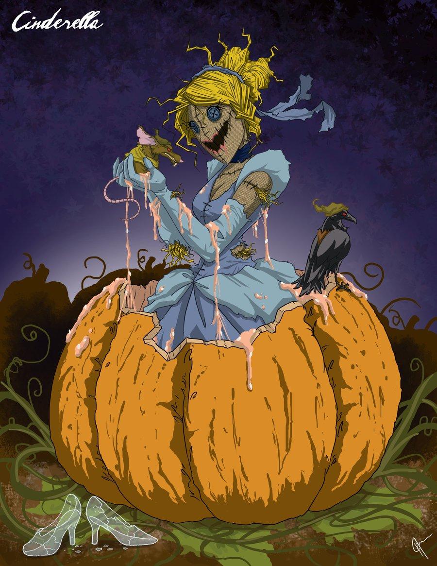 Principesse Disney dark - Cenerentola