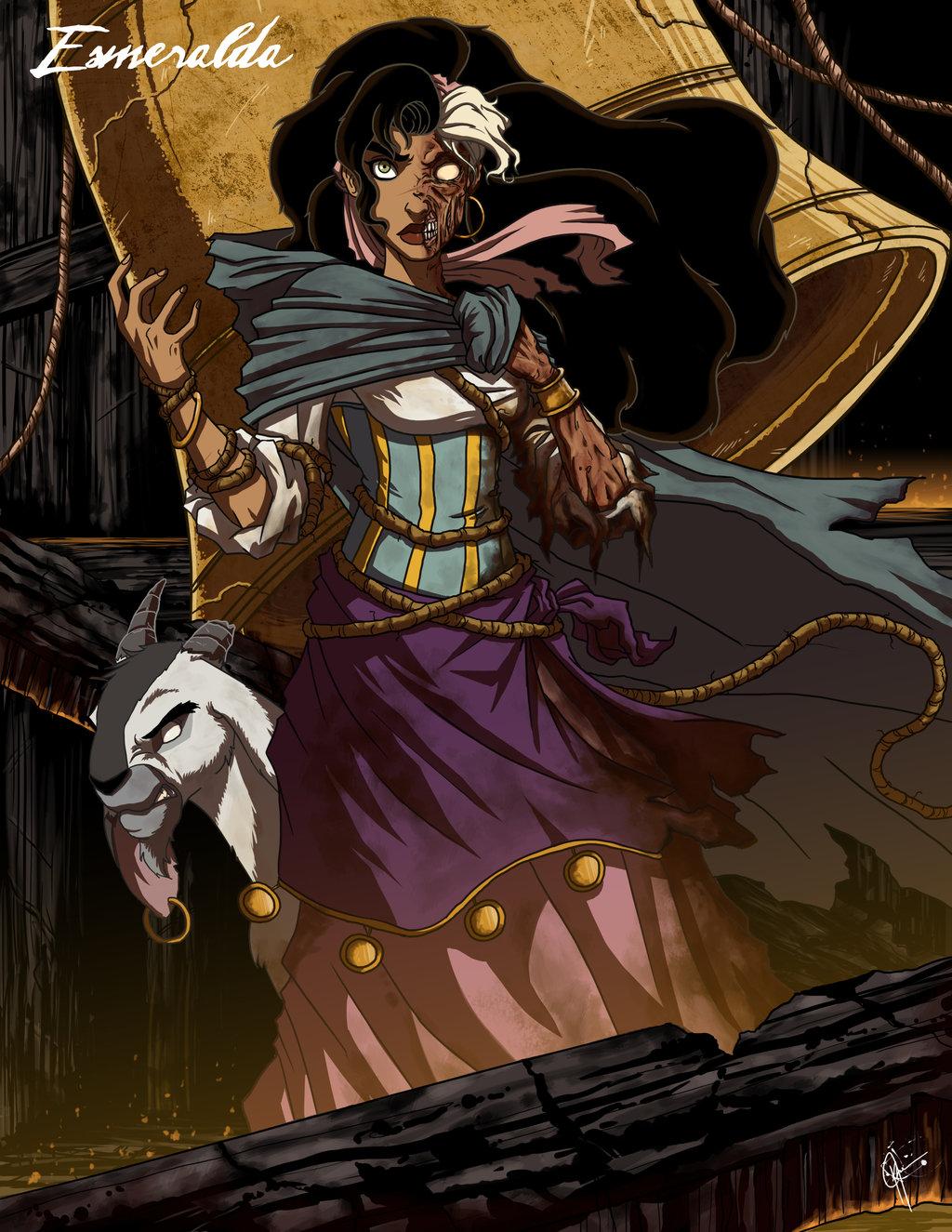 Principesse Disney dark - Esmeralda