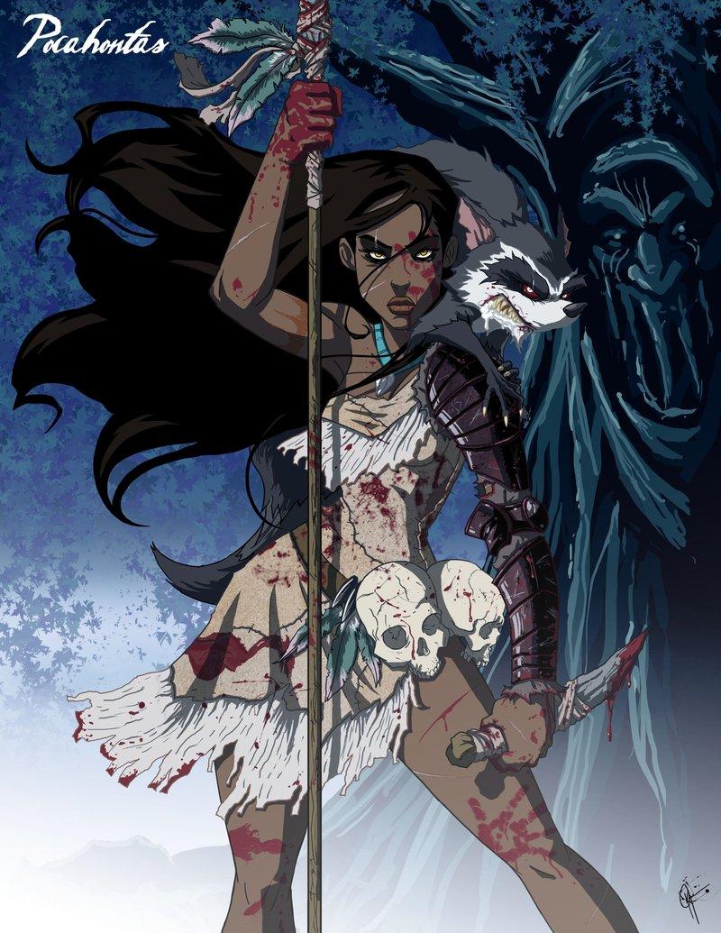 Principesse Disney dark - Pocahontas