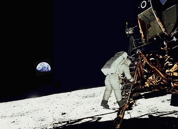 apollo 11 primo uomo sulla Luna