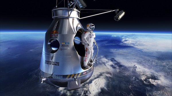 felix Baumgartner salto supersonico