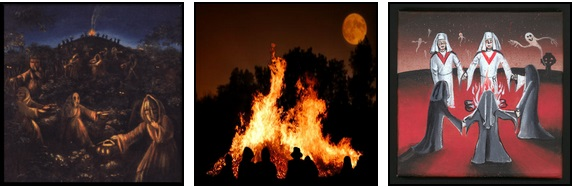 Celebrazioni celtiche nella festa di Samhain