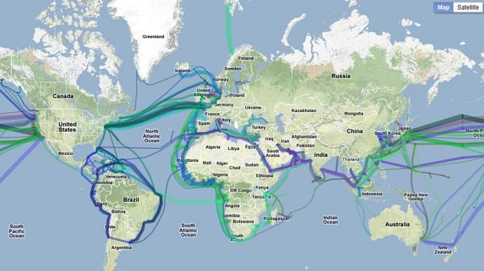 internet cavi sottomarini