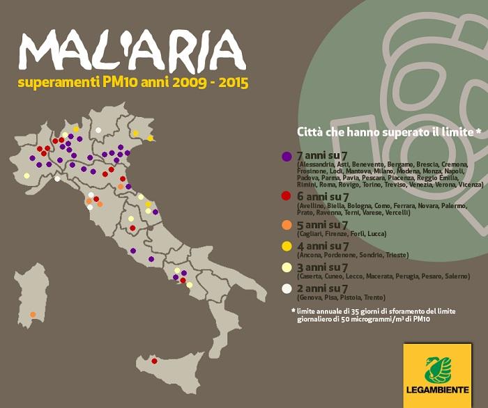 legambiente malaria