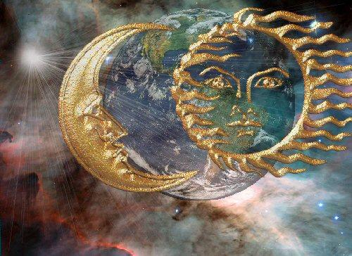 luna di sangue eclissi lunare superstizione