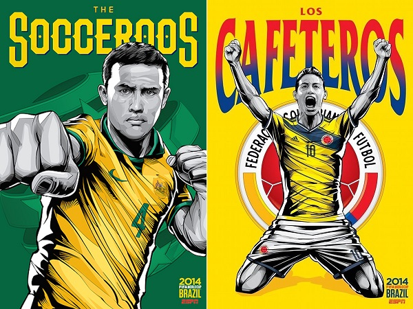 mondiali brasile 2014 soprannomi nazionali