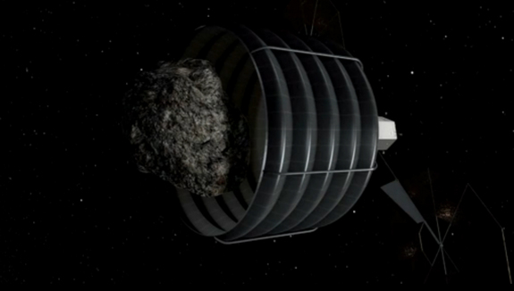 nasa cattura asteroide