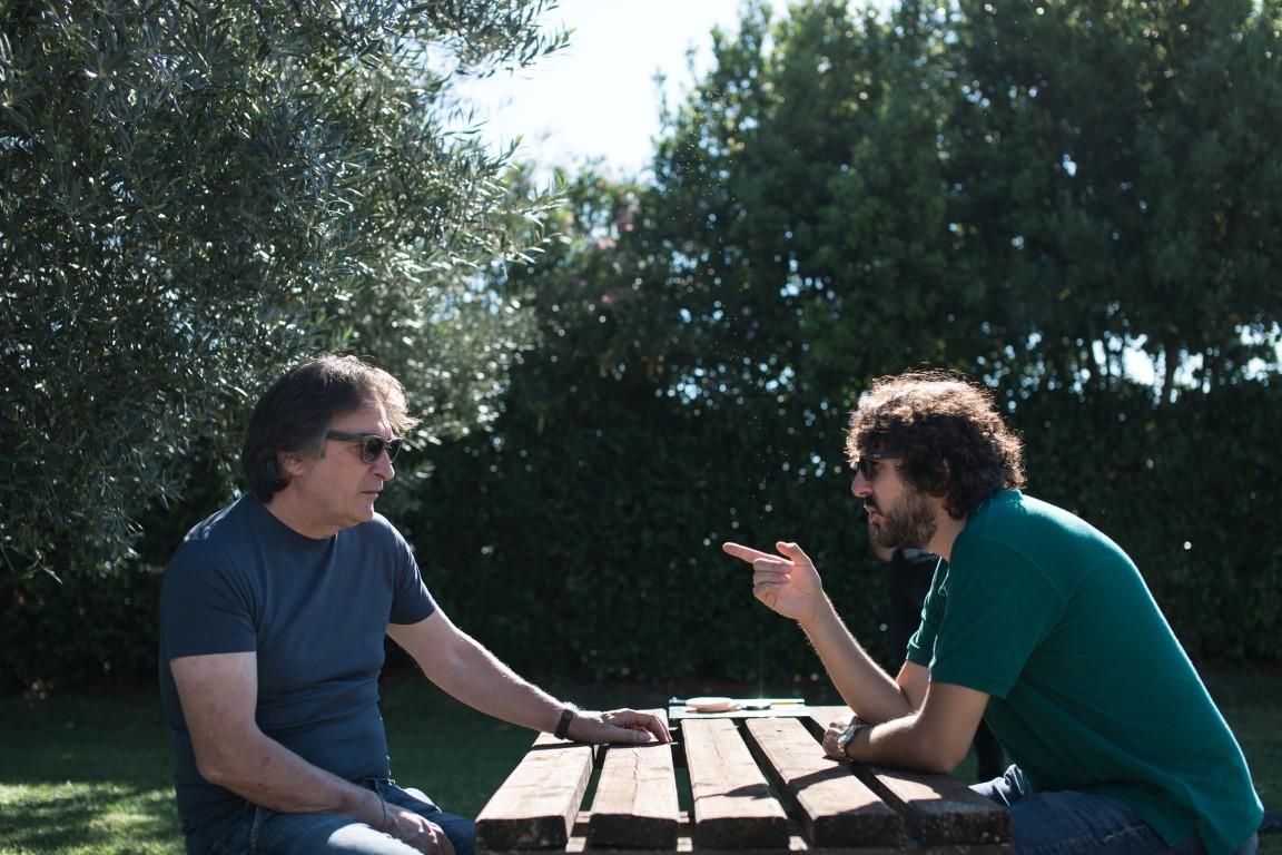 Nella foto Simone Isola e Giuseppe Simonelli