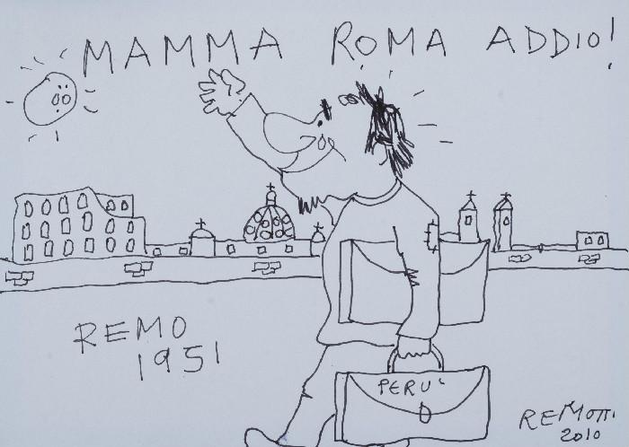 3 Mamma Roma Addio, della serie REMOTTI A FUMETTIedited