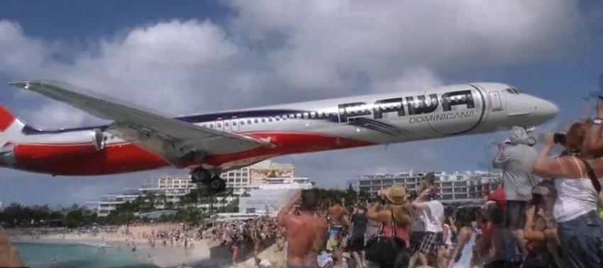 maho beach aereo