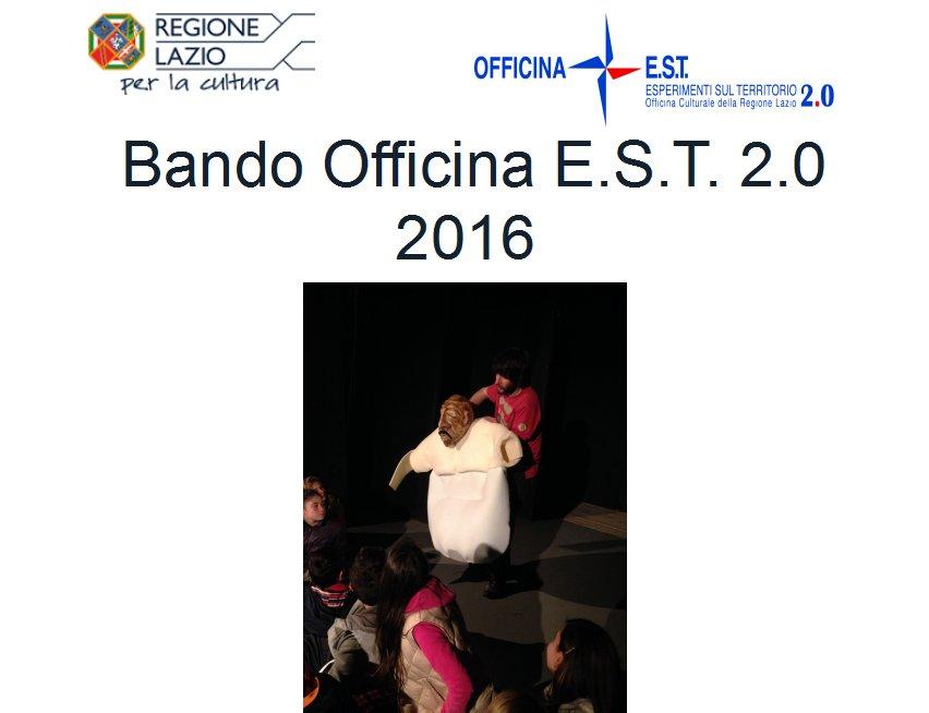 Bando Officina E.S.T. 2.0 2016
