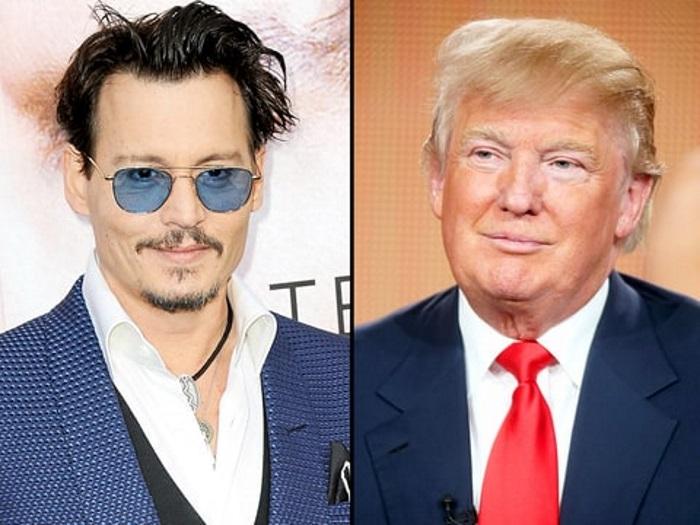 Johnny Depp donald trump