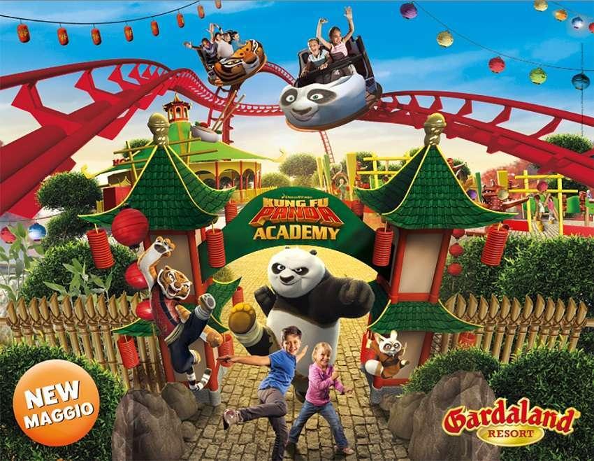 Kung Fu Panda Academy Gardaland 2016
