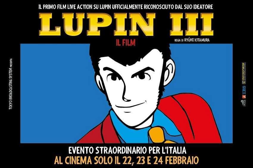 """Lupin III, il poster """"Limited Edition"""" in esclusiva per i fan italiani – CLIP"""