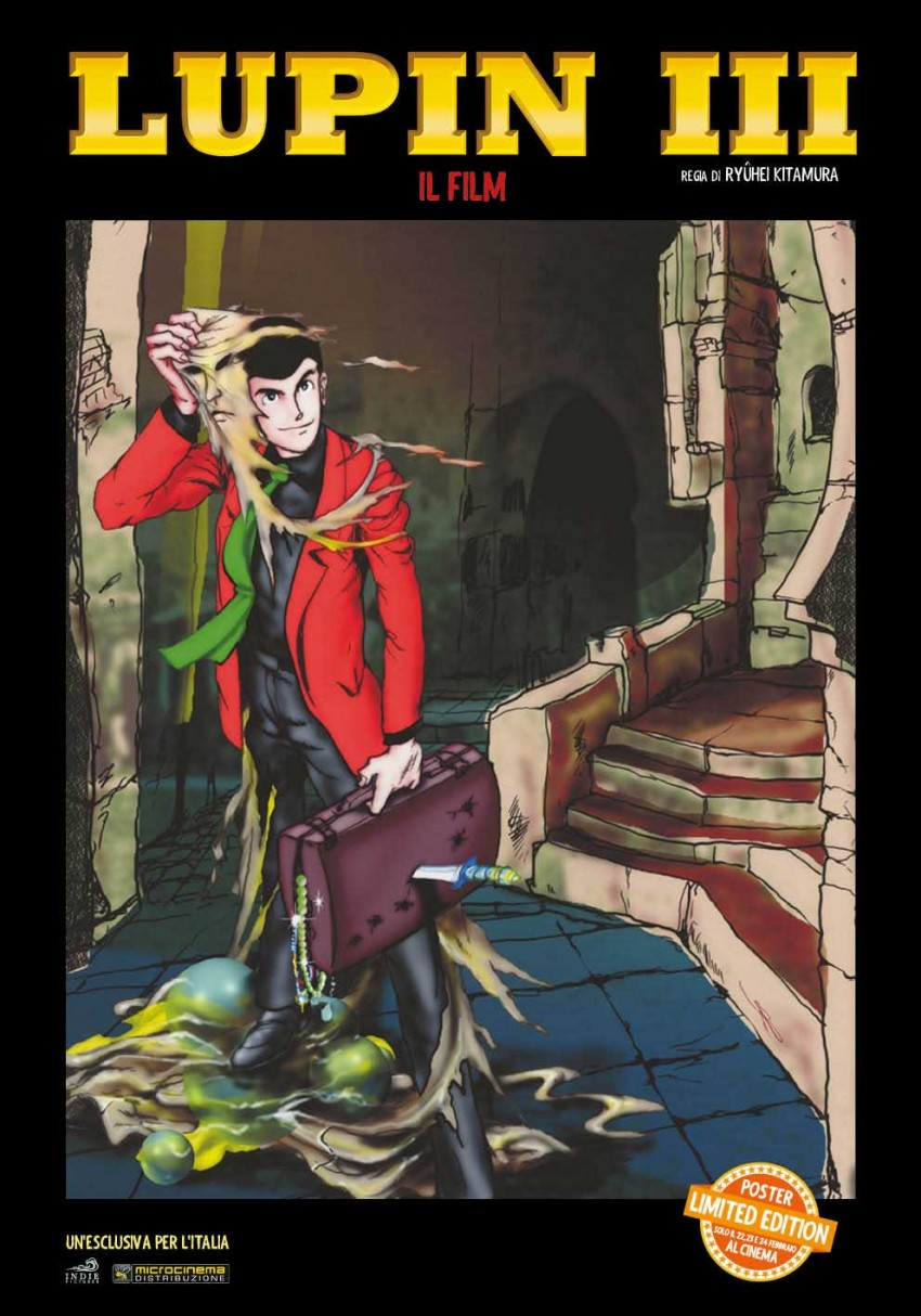 LUPIN III poster limited edition