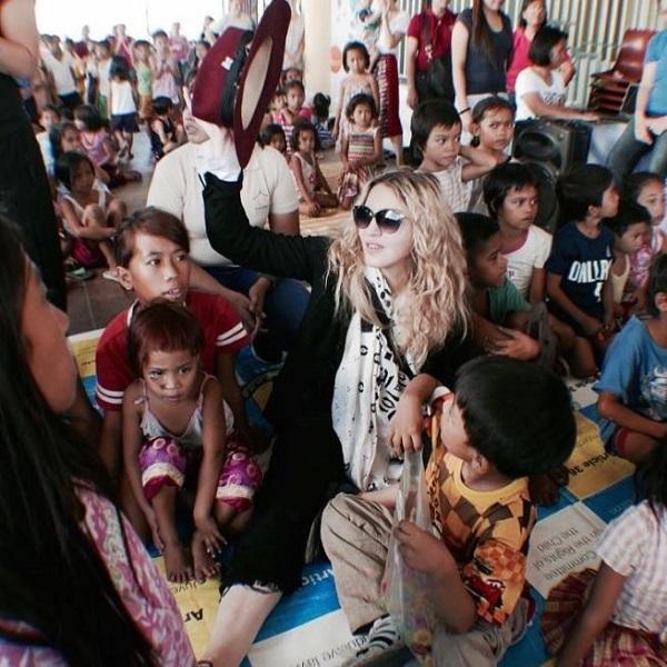 Madonna Filippine orfanatrofio
