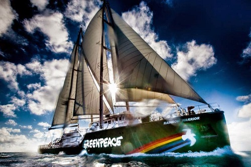Rainbow Warrior di Greenpeace 2