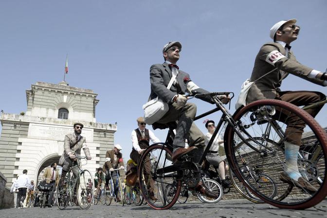 Tweed Ride Roma. Fotografo: benvegnù - guaitoli - cimaglia