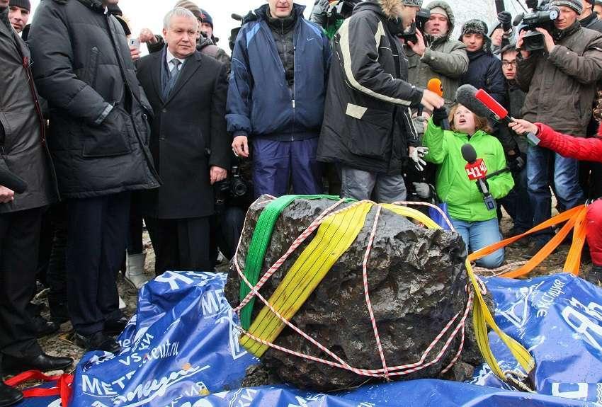 Russia meteorite Chebarkul