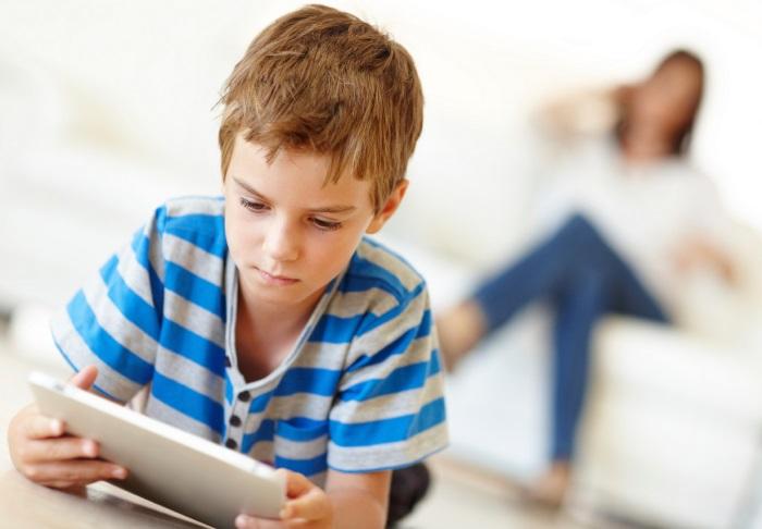 bambini tablet internet