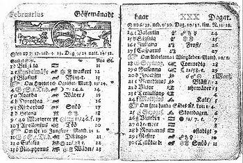 calendario gregoriano 2