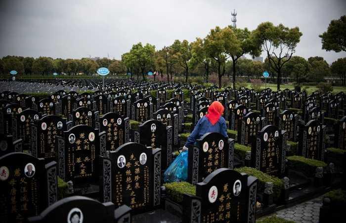 cimitero cina