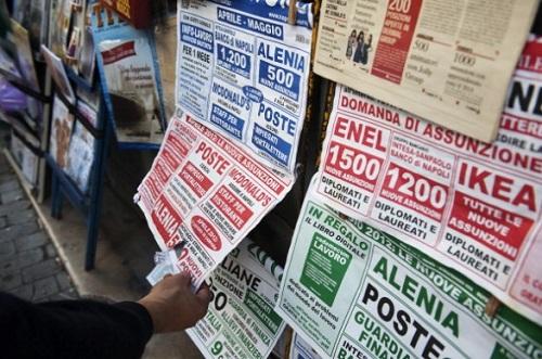 lavoro disoccupazione giovanile