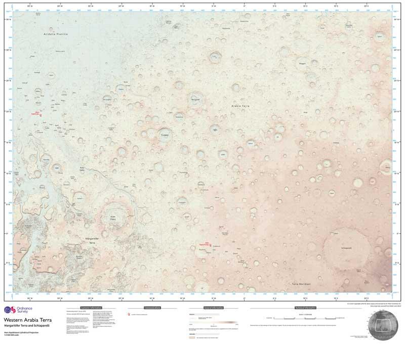 marte mappa
