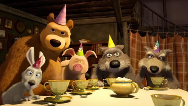 Masha e orso tornano con i nuovi episodi su infinity