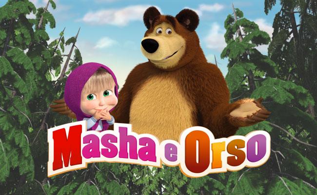 Masha e orso nuovi amici al cinema dal ° gennaio trailer