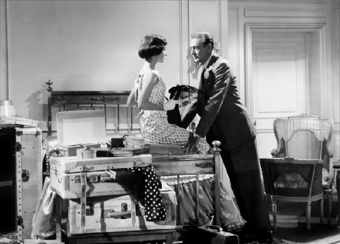 "Un'immagine del film ""Love in The Afternoon (Arianna)"" di Billy Wilder, 1957"