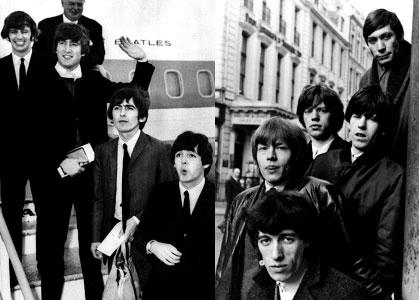 Beatles e Stones