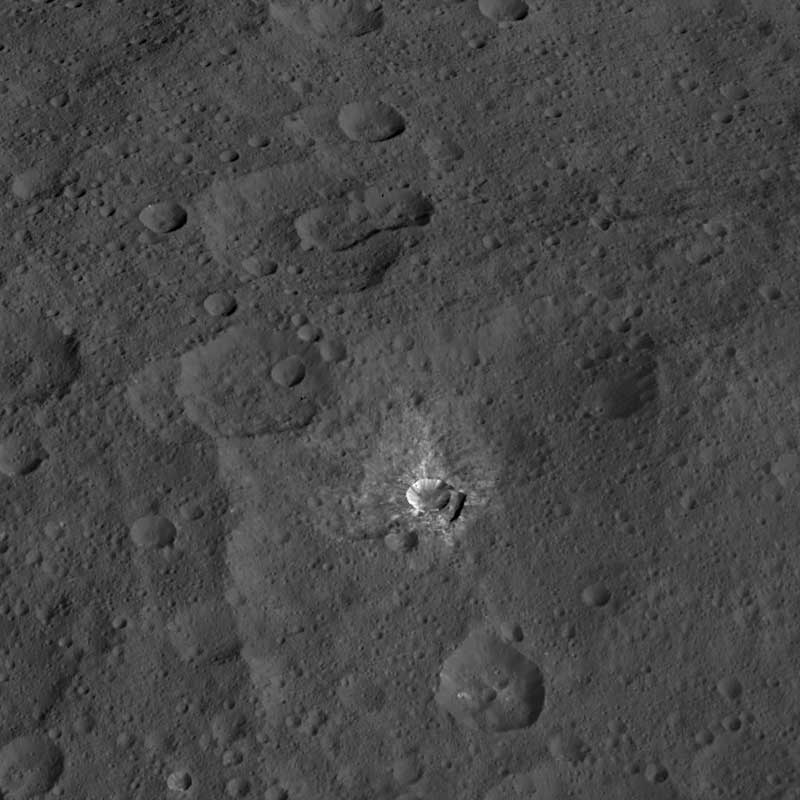 Cerere Oxo crater
