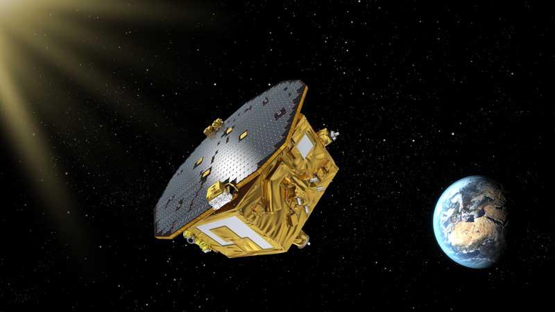 Lisa Pathfinder in space (1)