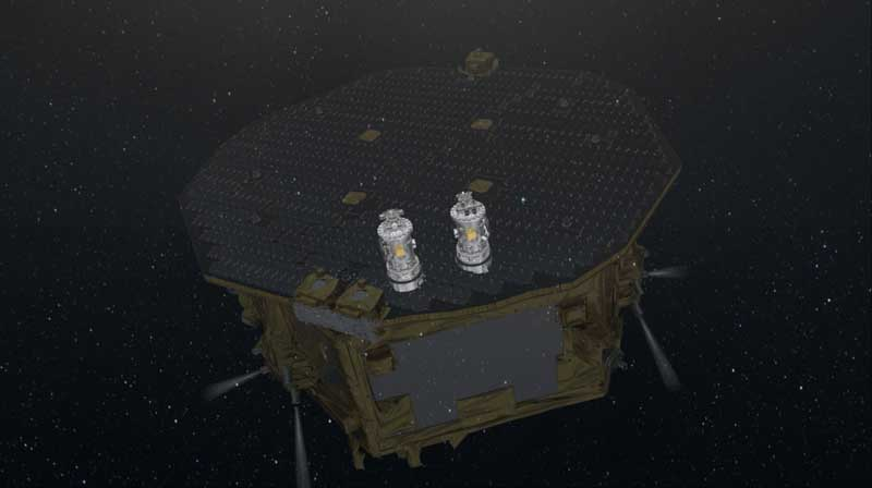 Lisa Pathfinder in space (2)