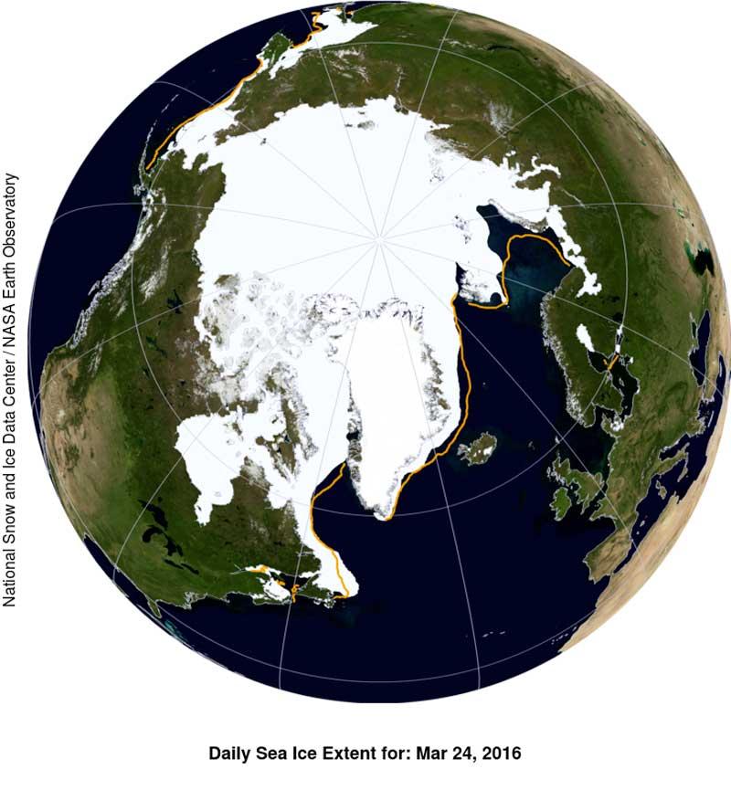 Nasa ghiaccio artico (3)