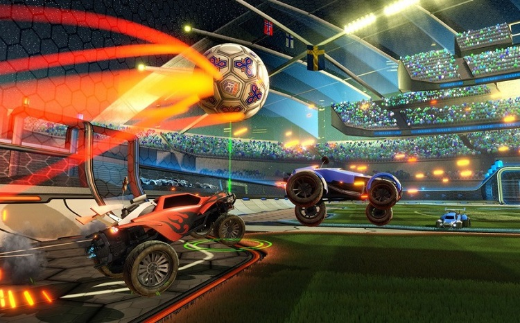Rocket League microsoft multiplayer