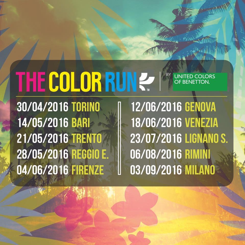 color run calendario