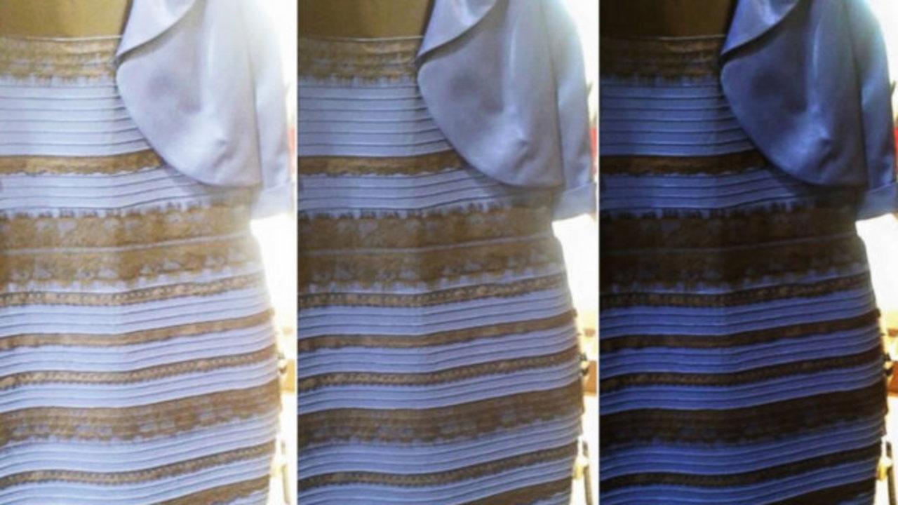 """4ed37458ea29 Sul web sta facendo """"strage"""" di persone il caso del vestito  alcune persone  lo vedono bianco e dorato"""